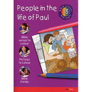 People in the Life of Paul: Bible Colour and Learn 18 by Various (Paperback)