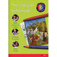 The Story of Nehemiah Bible Colour and Learn 10 by Various (Paperback)