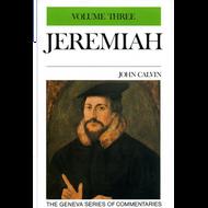 Jeremiah 20-29 Geneva Commentary Series, volume 3 by John Calvin (Hardcover)