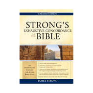 Strong's Exhaustive Concordance of the Bible by James Strong (Hardcover)