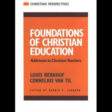 van til essays on christian education