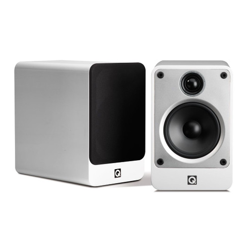 Q Acoustics Concept 20 Speakers (White And Black)
