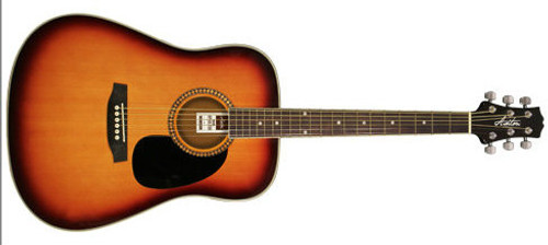 Ashton SPD25 Acoustic Guitar Pack  (Left Handed Available)