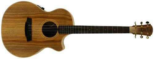 Cole Clark Angel AN2CEBLBL Acoustic Electric Guitar