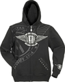 Gibson logo mens hoodie ( Small )