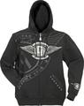 Gibson logo mens hoodie ( Large )