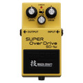 Boss Super overdrive WAZA SD1W Craft Custom guitar effects Pedal