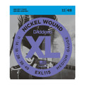 D'Addario EXL115 Nickel Wound Electric Guitar Strings Regular Light, 11-49