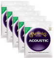 Martin M170 extra light bronze wound acoustic guitar string set ( 5 set deal )