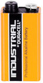 Duracell Industrial Alkaline Batteries PP3  ( 9V )