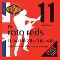 Rotosound R11 Roto Red Medium Electric Guitar Strings ( 11-48 )