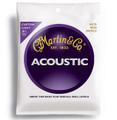 Martin M175 custom light bronze wound acoustic guitar string set
