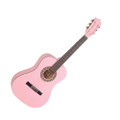 School 3/4 classical school guitar ( pink )