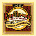 Earthwood Ernie Ball 5 string banjo bluegrass strings