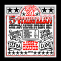 Ernie Ball 5 string banjo custom gauge string set light gauge