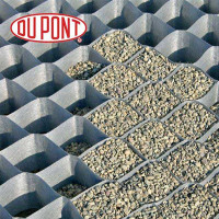 DuPont Grass Paver - Gravel Grid (4' x 25') - 50 mm x 55 mm Cell Size
