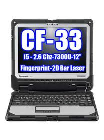 Panasonic Toughbook CF-33 i5-7300U 2.60GHz, Fingerprint, 2D Bar Laser (CF-33AFHEAVM )