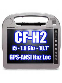Panasonic Toughbook CF-H2 CF-H2PRDDD1M GPS, Fingerprint, Contactless SmartCard Reader, ANSI Haz Loc **New**