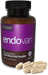 Endovan - 60 caps Nattokinase Extended Action (Lasts Longer in the Body) - Endovan For Endometrial Health and Uterus Health