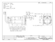 K01285-C800 Klauber Gear Motor (K01285-C800) or (K01531A800)