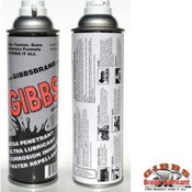 Gibbs Brand Lubricant 12 of 12 oz Cans (Case)