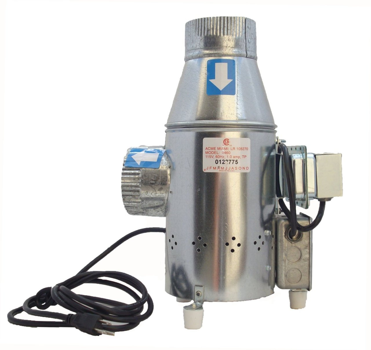 A9460 Dryerjet Power Vent Vent Booster Csh Electric