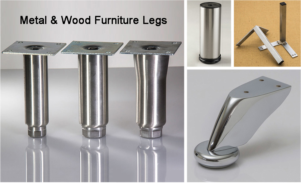Metal & Wood Furniture Legs | Designs for ANY Project!