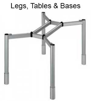 Huge selection of table legs and bases