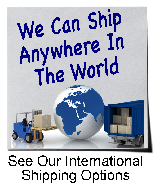 We Ship Anywhere In The World