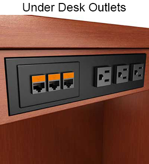 Exceptionnel ... Under Desk Outlets ...