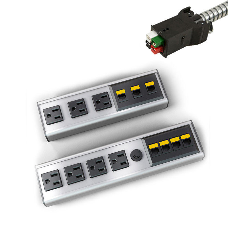 Electri Cable Assemblies : Seclusion daisylink to power plus data options