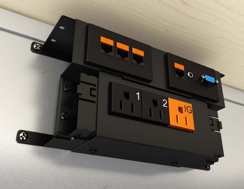 Electri Cable Assemblies : Data power pak closet masters