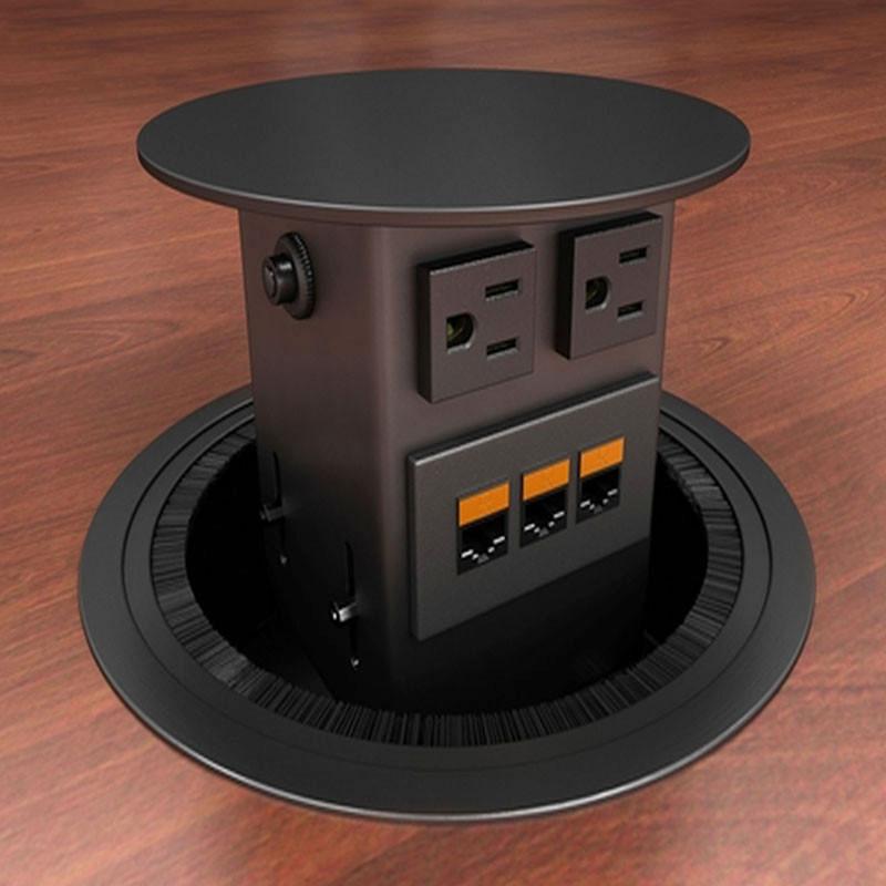 Electri Cable Assemblies : Concept power plus data options closet masters