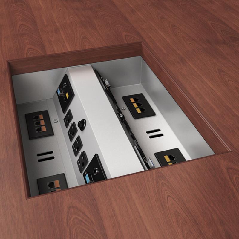 Eca Electri Cable Assemblies : Interface ii ut power plus data options closet masters