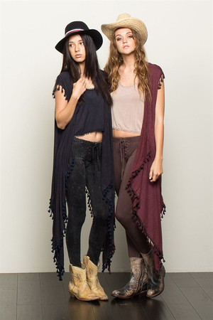 Draped Tunic Duster