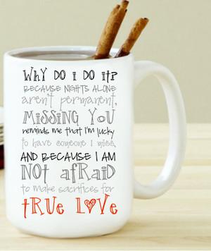 True Love Through The Distance Mug