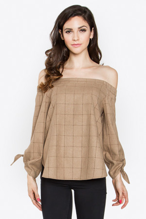 CHERICE OFF THE SHOULDER TOP
