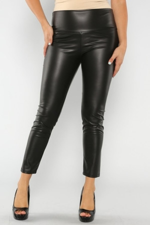 Plus Size Leather Leggings Out Of My Kloset