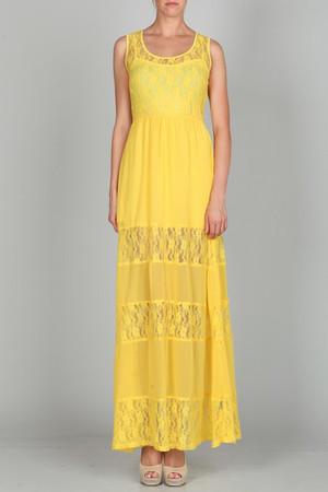Ark & Co Lace Maxi Dress