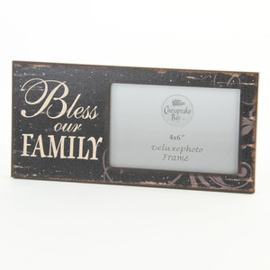 Bless Our Family Photo Frame