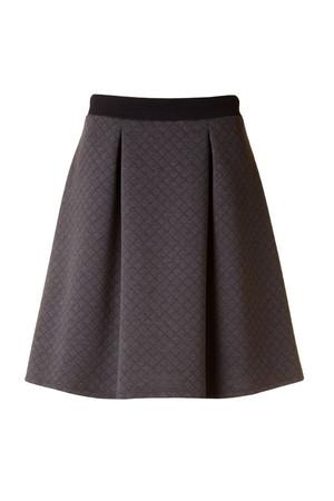 High Waisted Grey Skirt