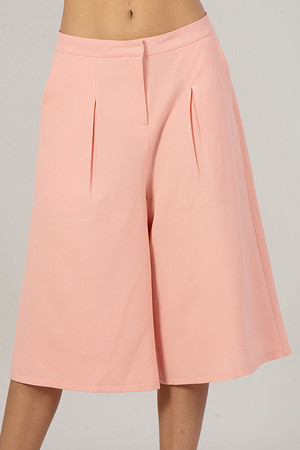 Peach Culottes