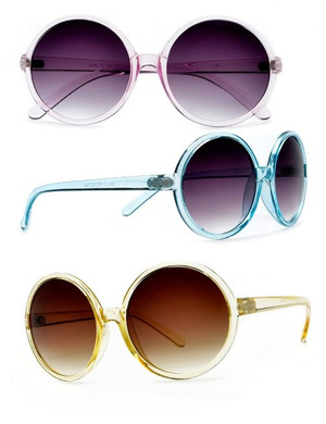 Circle Crystal Sunglasses
