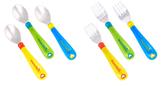 Munchkin Toddler Spoons + Forks, 6 pk