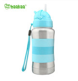 Haakaa Standard Neck Thermal Stainless Steel Straw Bottle 9 oz 1 pk (More Colors)