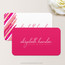 Lipstick Makeup Artist or Cosmetologist Business Card Back