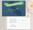State (California) Moving Announcement Postcard / Magnet / Flat Card with envelope