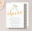 Cheers Baby Shower Invitation