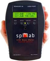 SPL LAB NEXT LCD BASS METER