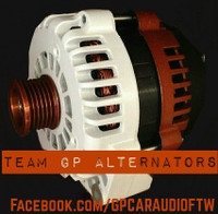 BUICK PARK AVE 3.8L -1998-1999- 300AMP TEAM GP Alternator